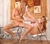 Peaches & Sandra Shine - Euro Girls on Girls 10