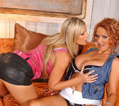 Carol & Sharon Pink - Euro Girls on Girls 4