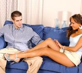 Aneta Keys - footjob and cream 2