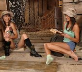 Aiden & Angelina Crow - Hot Legs and Feet 2