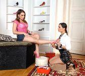 Eve Angel & Natasha Nice - Hot Legs and Feet 2