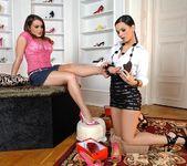 Eve Angel & Natasha Nice - Hot Legs and Feet 4