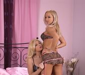 Bobbi Eden & Silvia Saint - Hot Legs and Feet 2