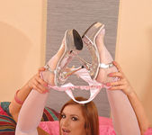 Angela - footslut in stockings 7