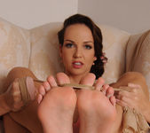 Aneta J. demoing her feet - Hot Legs and Feet 15