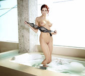 Jayden Cole Gets Her Cunt Satisfied In The Tub 7