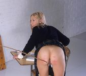Adel getting spanked until her ass is red 4