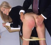 Adel getting spanked until her ass is red 6