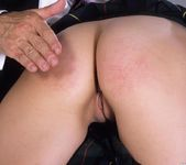 Adel getting spanked until her ass is red 9