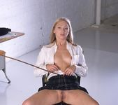 Adel getting spanked until her ass is red 15