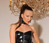 Allison with leather gear - House of Taboo 6