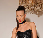 Allison with leather gear - House of Taboo 9