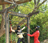 Latex Lucy & Paige aka Ruby Rubber 12