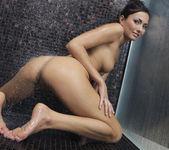Sexy Michaela Isizzu Is Pleasuring Herself In The Shower 12