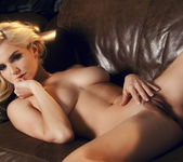Liz Pleasures Herself Alone At Home 15