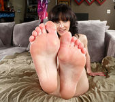 Katie St. Ives Awaits a Cum Load on Her Toes 3