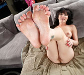 Katie St. Ives Awaits a Cum Load on Her Toes 8