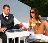 Angelina Valentine - Poolside Semen Service - Big Tits Boss 5