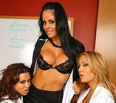 Sienna, Mikayla & Trina - Business Boobies - Big Tits Boss 3