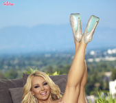 Aaliyah Love Takes Off Her Panties And Fingers Herself 12