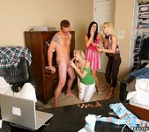 Alana Evans, Holly Sampson, India Summer - CFNM Secret 8