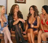 Persia, Carolyn, Victoria, Hunter - CFNM Secret 3
