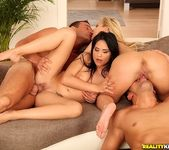 Aida Sweet And Kelly White - Double Licks - Euro Sex Parties 11