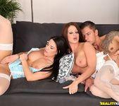 Sabby, Athina Clare - Boudoir Romp - Euro Sex Parties 8