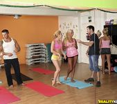 Aleska Diamond & Ivana Sugar - Yoga Love - Euro Sex Parties 5