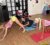 Aleska Diamond & Ivana Sugar - Yoga Love - Euro Sex Parties 6