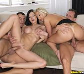Abbie Cat & Candy Love - Europe Orgy - Euro Sex Parties 9