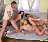 Safira White And Bessy - Two For Two - Euro Sex Parties 9