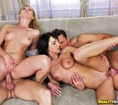 Safira White And Bessy - Two For Two - Euro Sex Parties 10
