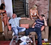 Mia Leone & Nataly - Clean N Fresh - Euro Sex Parties 8