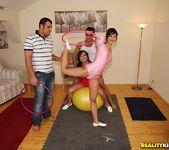 Angel Pink & Dianna Dee - Sexnastics - Euro Sex Parties 5