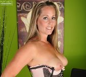 Amy Ball - milf getting naked in the office 11