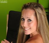 Amy Ball - milf getting naked in the office 22