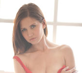 Chrissy Marie - Red Lingerie 5