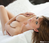 Chrissy Marie - Jean Shorts In Bedroom 12