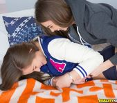 Dani Daniels, Riley Reid - Bush And Tush - We Live Together 4