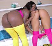 Leilani Leeane, Tatiyana Foxx - Round And Brown 2