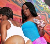 Imani Rose, Jayden Starr - Double Shot Of Ass - Round And Br 3