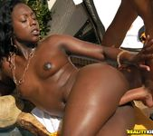 Vanett Jolie - Tan And Squirt - Round And Brown 11