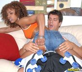 Misty Stone - Roller Girl - Round And Brown 6