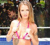 Alina Long poolside nastyness 2