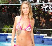 Alina Long poolside nastyness 3