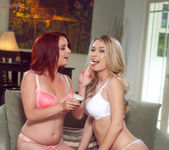 Ashlee Graham And Natalia Starr Lick Each Others Pussies 2
