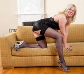 Katya Gannau - Sexy Mature In Leather 5