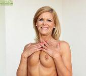 Aarrie - Cute blonde milf showing her body 15
