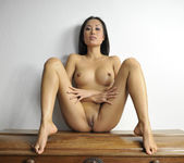 Danika - tight body asian showing her body 8